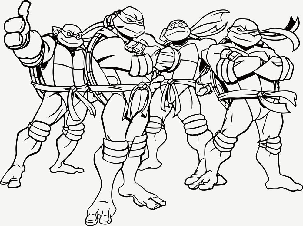 - Printable Coloring Pages Teenage Mutant Ninja Turtles Coloring Pages  Gallery - Coventry Taekwondo